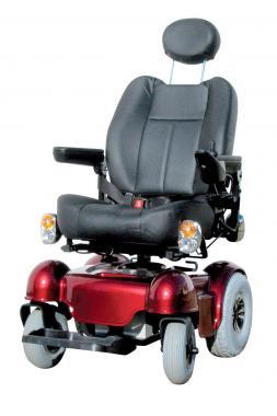 B-4220/V Utcai elektromos kerekesszék kifordítható üléssel
