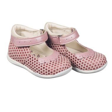 MEMO babacipő - FIONA;rózsaszín