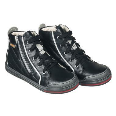 MEMO gyerekcipő - NEW YORK fekete
