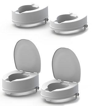 Meyra Easy-Clip WC magasító 10 és 15 cm magas