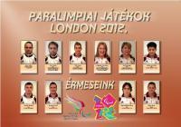 Paralimpia 2012 Érmesek