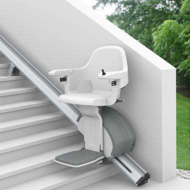 HomeGlid kültéri egyenes lépcsőlift
